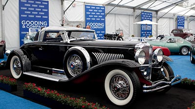 1931 Duesenberg Model J Murphy Bodied Coupe