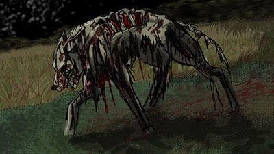 dog zombie