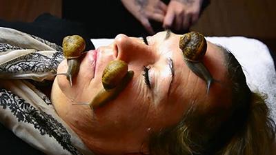 facial snail