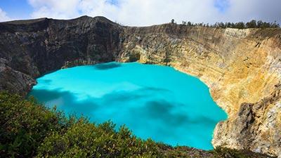 kelimutu crater
