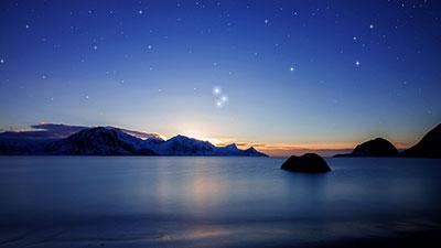 mercury jupiter saturn