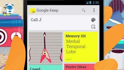 contoh google keep