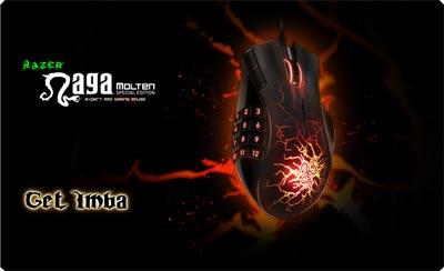 Razer Naga Special Edition - Molten