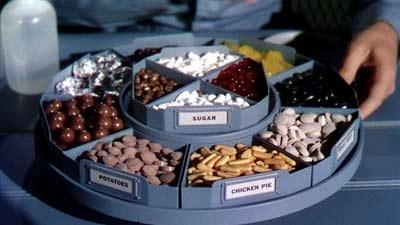 makanan dalam bentuk pil