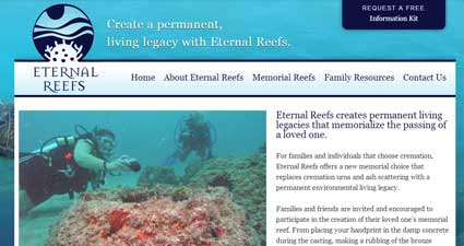 unique business idea eternal reefs