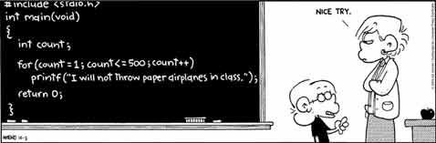 ilustrasi programmer yang malas