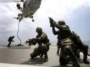 kegiatan militer dari helipkoter
