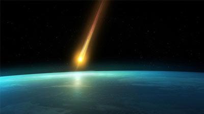 cara dunia kiamat meteor