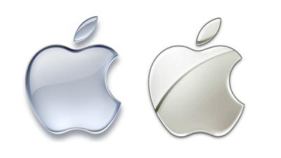 logo monokromatik apple