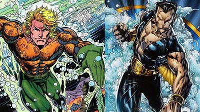 Aquaman and Namor