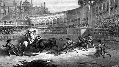Bullfighting ancient