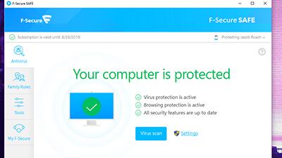F-Secure Antivirus SAFE