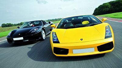 Lamborghini and Ferrari