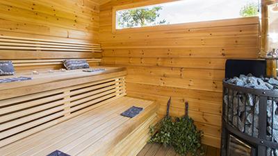 Festive Sauna