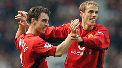 Gary and Philip Neville