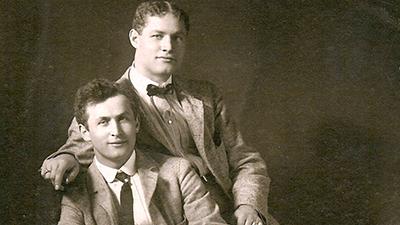 Harry Houdini and Theodore Hardeen