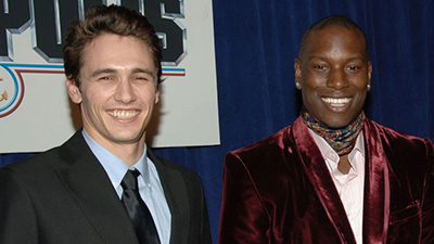 James Franco and Tyrese Gibson