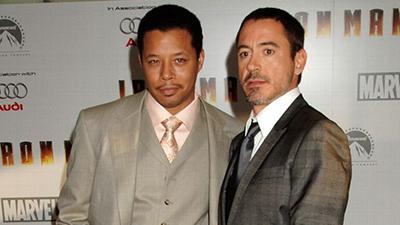 Robert Downey Jr. and Terrence Howard