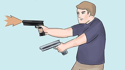 dual gun