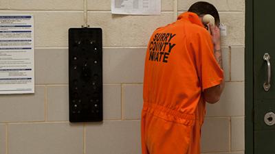 phone call jail