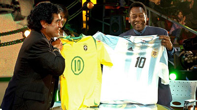 Diego Maradona - Pele