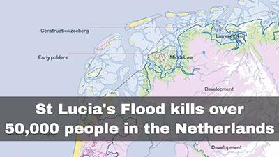 St. Lucia's flood