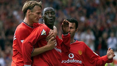 Teddy Sheringham - Andy Cole