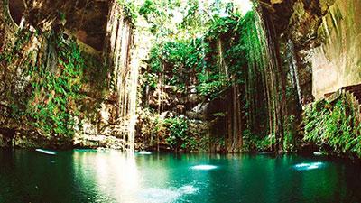 Cenotes Of Yucatan Peninsula