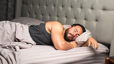 less sleep