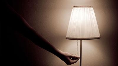 light off