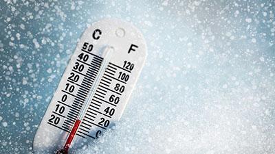 lower temperature