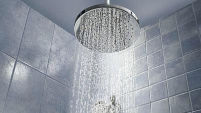 warm shower