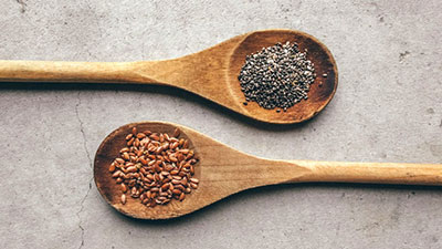 Chia seed and Flaxseed
