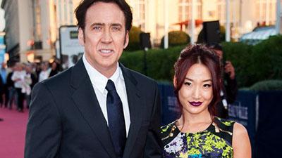 Nicolas Cage and Erika Koike