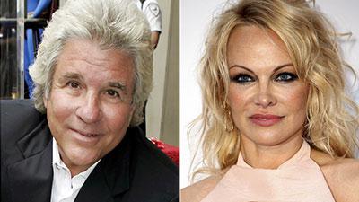 Pamela Anderson and Jon Peters