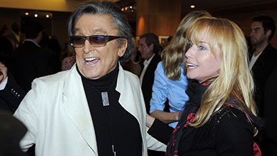 Robert Evans and Catherine Oxenberg