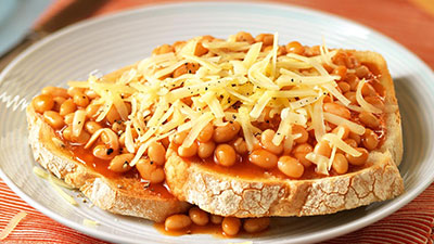 cheese and beans