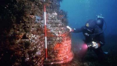 Baiae Underwater Ruin