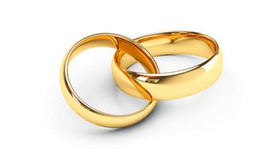 bentuk dan bahan dari cincin pernikahan