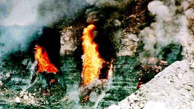 Eternal Flame: Jharia Coal Field