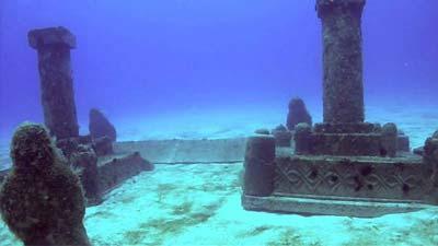dwarka underwater
