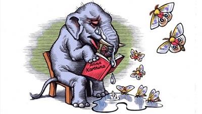 menangis: gajah dan manusia