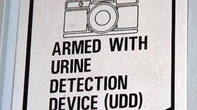 Urined Detection Device