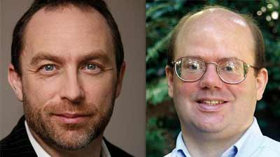 Jimmy Wales Larry Sanger