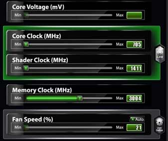 msi afterburner core clock