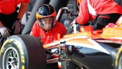 pit stop formula one