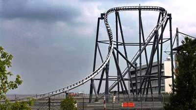 ring racer roller coaster