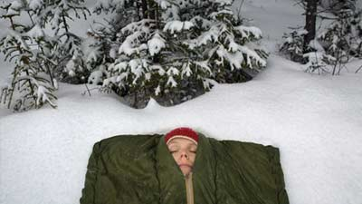 sleep in cold weather