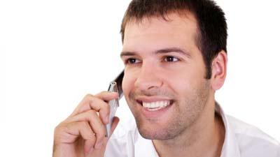 telepon klien