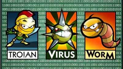 virus trojan worm